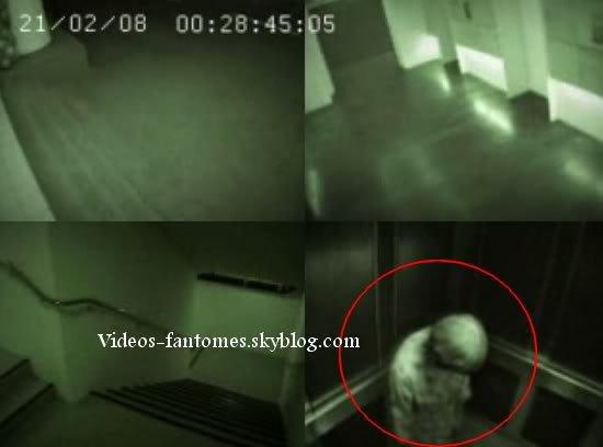 Fantôme dans un ascenseur Durée : 1 min 49 Lieu : Singapour Année :  19 Juillet 2008 Type : Vidéosurveillance