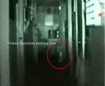 Entité filmée dans un couloir de maison Durée : 1 min 25 Lieu : États-Unis Année :  2007 Type : Amateur