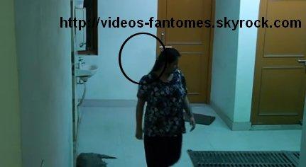Le fantôme pousseur Durée : 2 min 34 Lieu : Girls Hostel Année :  15 Octobre 2014 Type : Vidéo surveillance