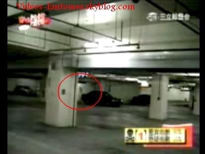 Fantôme dans un parking Durée : 2 min 33 Lieu : Tokyo, Japon Année :  1999 Type : Vidéo surveillance