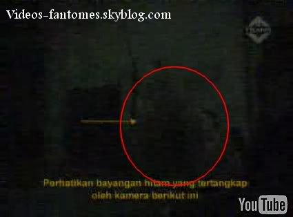 Mystérieuse ombre dans une maison hantée Durée : 54 sec Lieu : Indonésie Année :  2006 Type : Amateur
