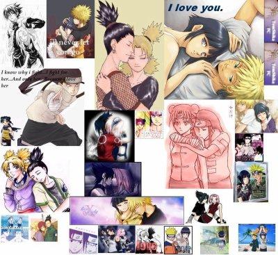Sondage: Quel est selon vous le meilleur couple dans Naruto?