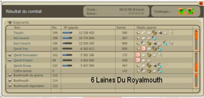 Personnages Après Les Captures Royalmouth / Futur Éléments /Stuff / Projets.