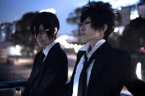 Psycho-pass : cosplay de Shinya Kogami