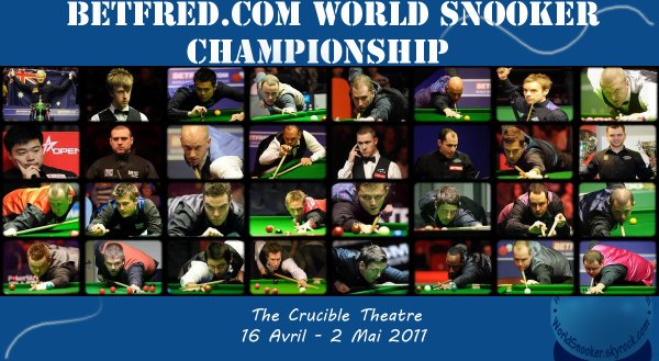 Betfred.com World Snooker Championship 2011