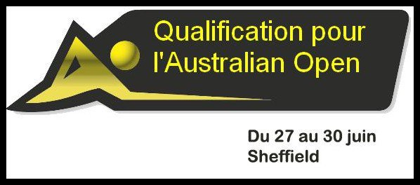 Qualification Australian Open 2011