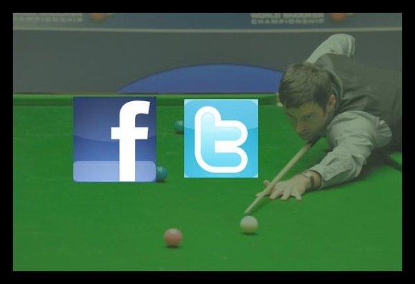 Joueurs sur facebook et twitter
