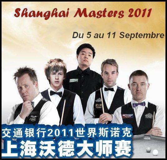 Shanghai Masters 2011