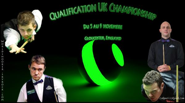 Qualification UK Championship