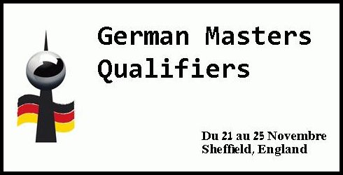 Qualification German Masters