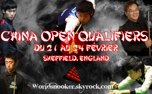 Qualification China Open