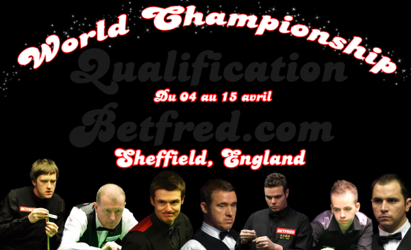 Betfred.com World Championship Qualifiers