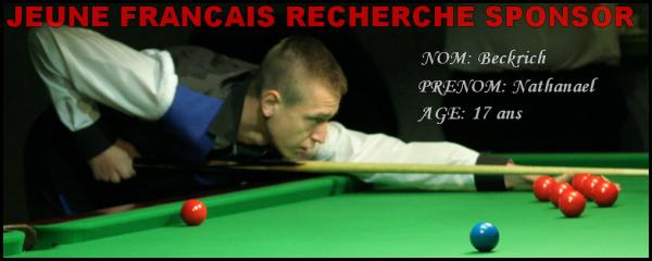 Nathanael Beckrich recherche sponsor ou partenariat