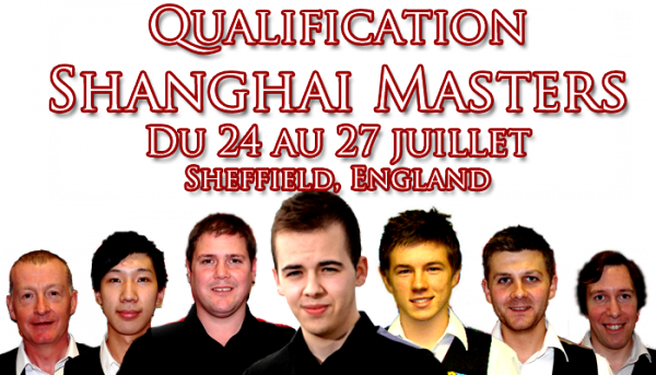 Shanghai Masters Qualifiers