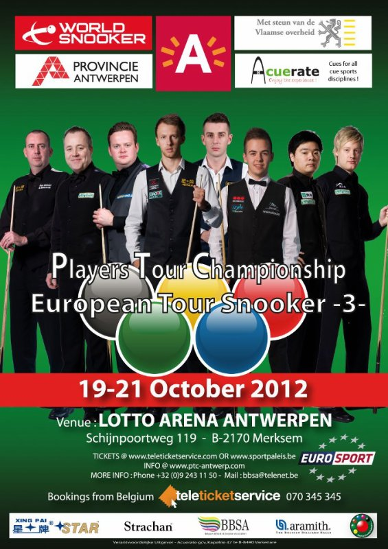 Betfair European Tour Event Three , Acuerate Antwerp Open, Belgian Open