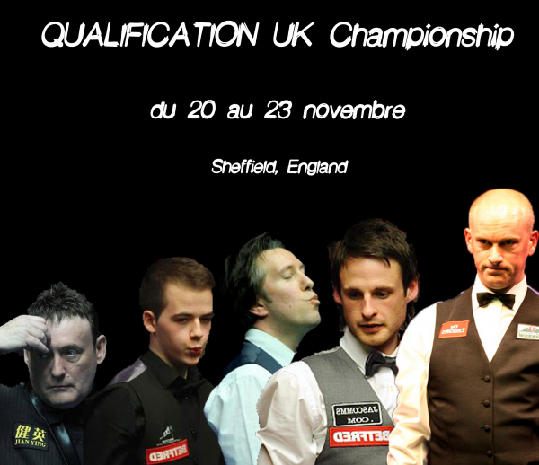 Qualification UK Championship