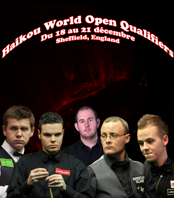 Haikou World Open Qualifiers