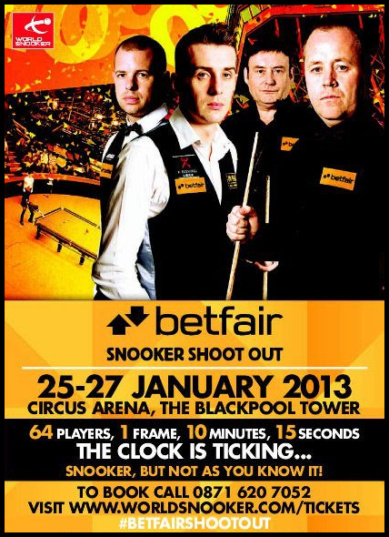 Betfair Snooker Shoot-Out