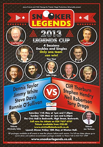 Snooker Legends Cup