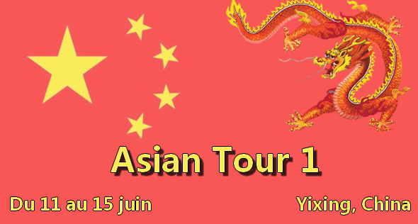 Asian Tour Event One