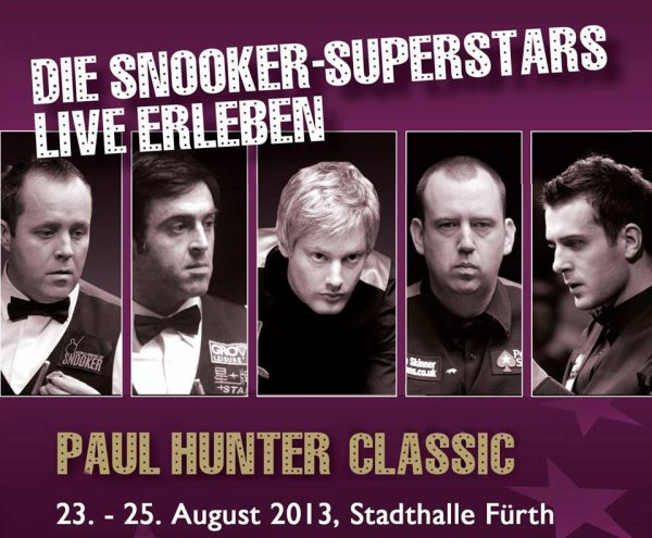 European Tour Event Four - Paul Hunter Classic