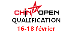 China Open Qualifiers