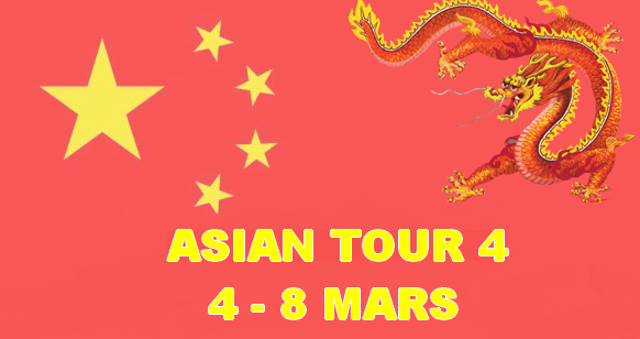 Asian Tour Event Four