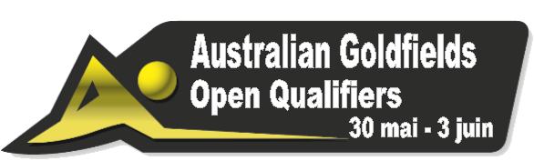 Australian Goldfields Open Qualifiers