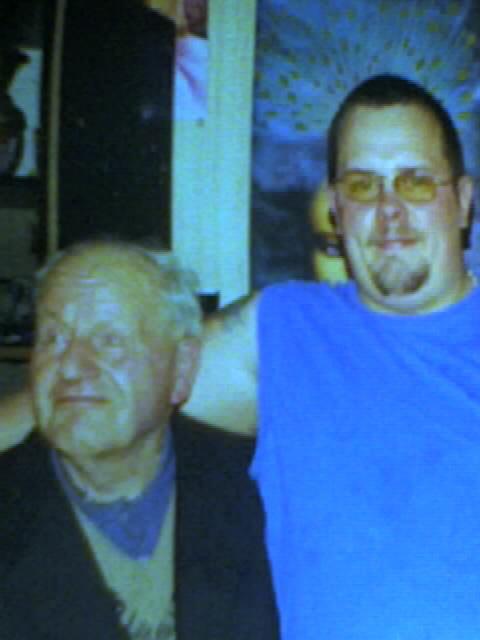 mon grand père et moi