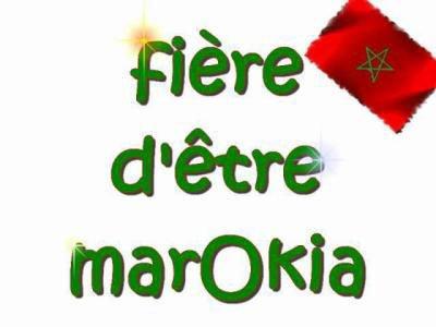 fière d'être marokia (l)