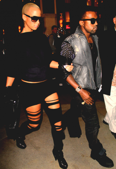 Kenye West & Amber Rose ♫♪