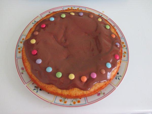 gâteaux fait hier pas bon! pour mon régime sa lol