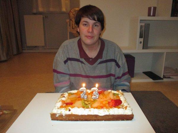 photo de mon anniversaire pour mais 23 ans =)