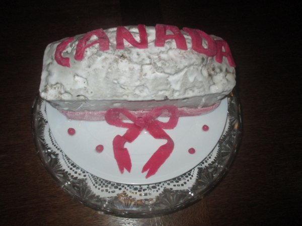 Que penser vous de mon gâteau d'anniversaire fait pour un ami
