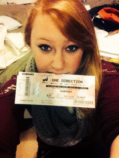 Place de concert One direction :D !!!