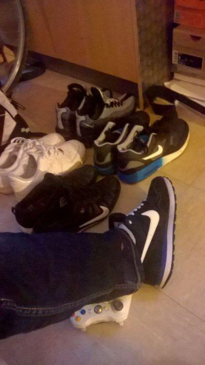 Toute mes paire de chaussur