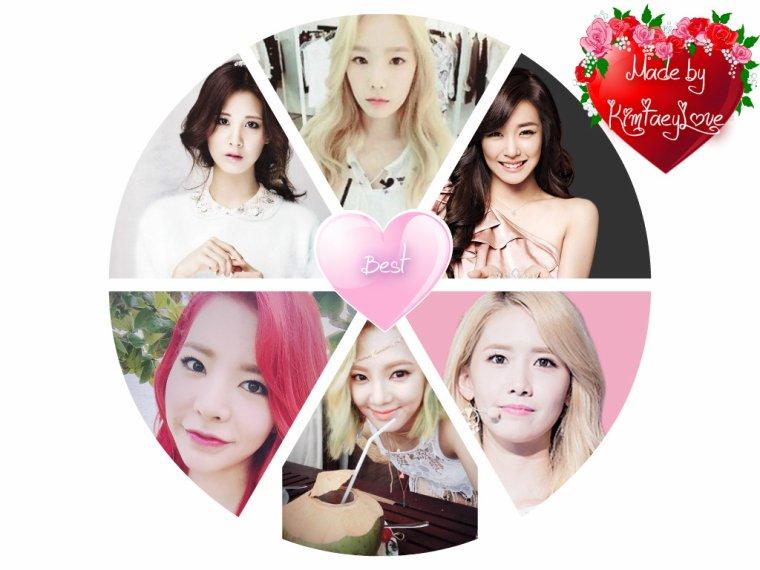 Mes membres préféré du groupe SNSD (version 2015) ! ♥