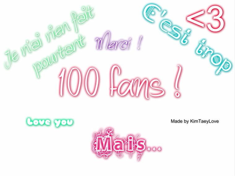 100 fans !