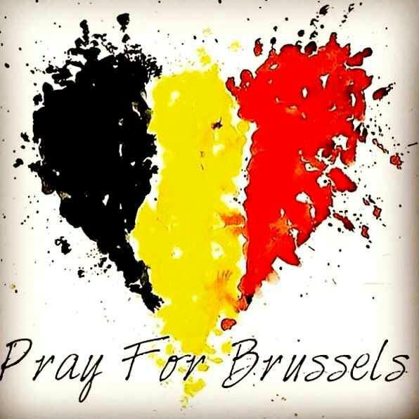 Pray for Bruxelles ❤.
