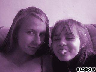 moi et ma petite cousine (l)