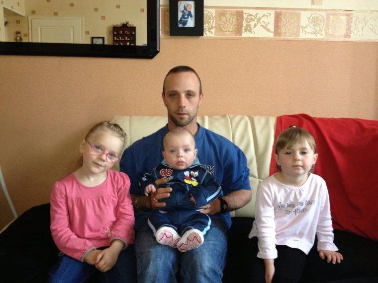 moi,mon homme et nos 3 enfants