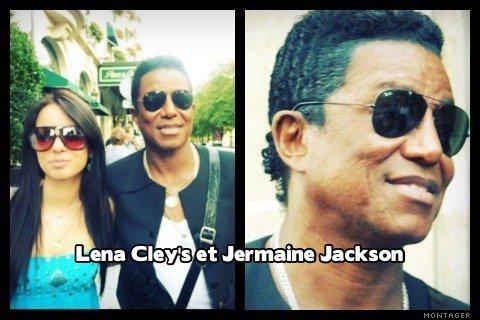 Jermaine Jackson et Lena Cley's