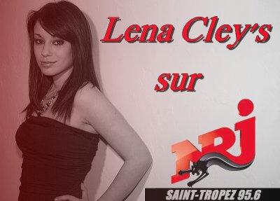 """TOUS les matins sur radio NRJ  St Tropez écoutez .... Lena Cley's avec son titre """"Briser la glace"""" !"""