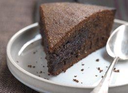 Gâteau sacher à l'amande