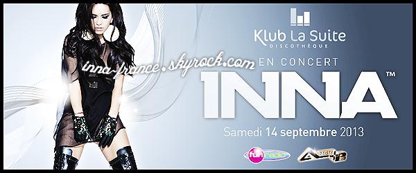 Concert en France le 14 Septembre