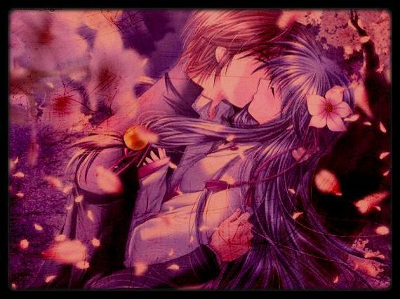 un amour sous les cerisier