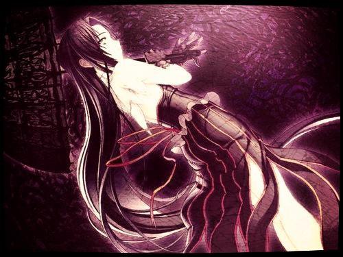 la fille mystérieuse des ténèbres