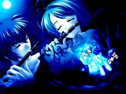 les flûtes des amoureux