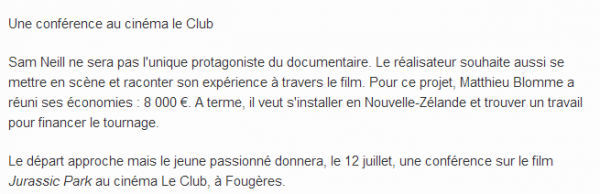 Suite de l'Article sur Matt d'Etat Critique !!!!
