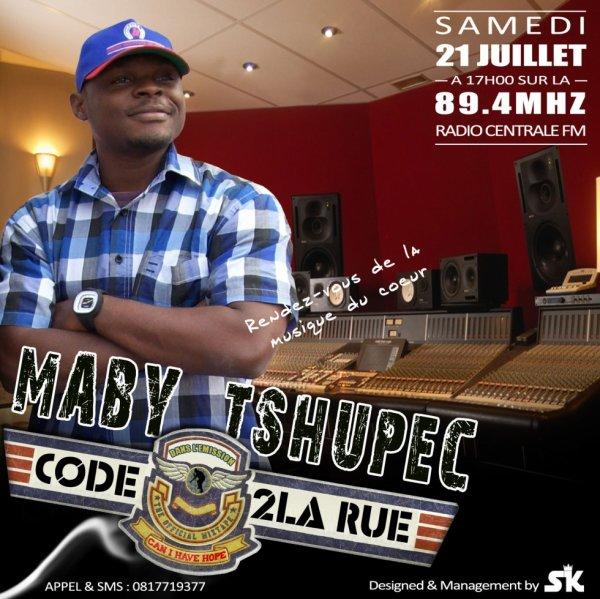 """Samedi 21 juillet 2012 à 17h00 sur la 89.4Mhz """"Radio Centrale fm"""""""